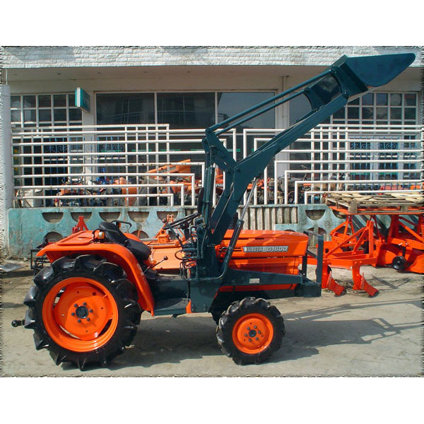 Tractor Front Loader Parts : Tractor kubota b wd with front loader
