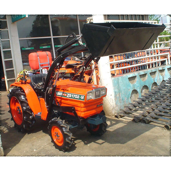 Kubota Tractor Spare Parts : Tractor kubota zb m wd with front loader
