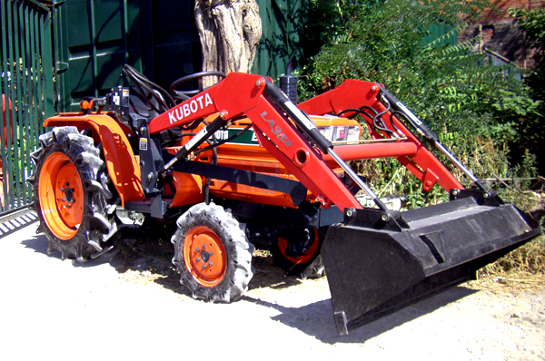 Tractor Front Loader Parts : Tractor kubota zb m wd with front loader