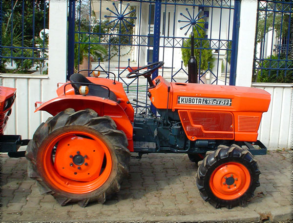 Kubota Tractor Spare Parts : Tractor kubota l dt