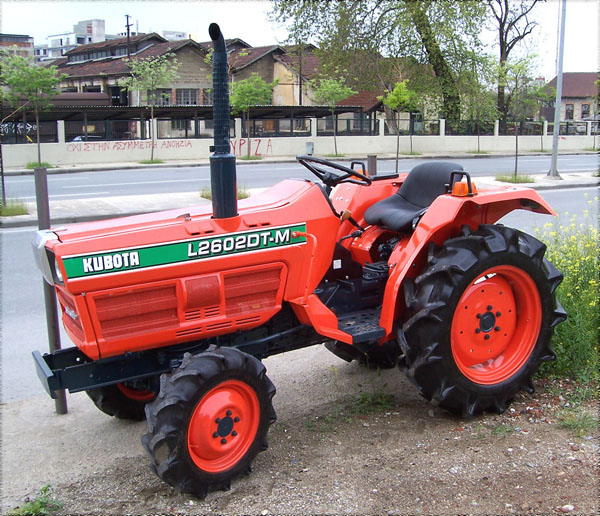 Kubota Tractor Spare Parts : Tractor kubota l dt m wd