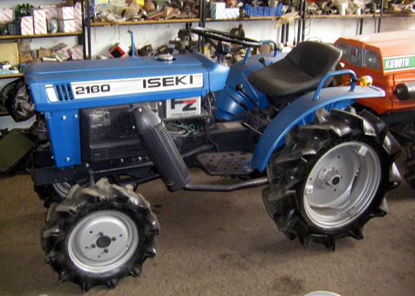 Iseki Tractor Salvage : Tractor iseki wd